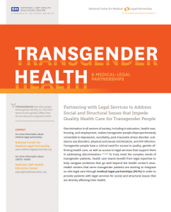 Fact Sheet: Transgender Health and Medical-Legal Partnerships