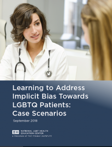 Learning to Address Implicit Bias Towards LGBTQ Patients: Case Scenarios
