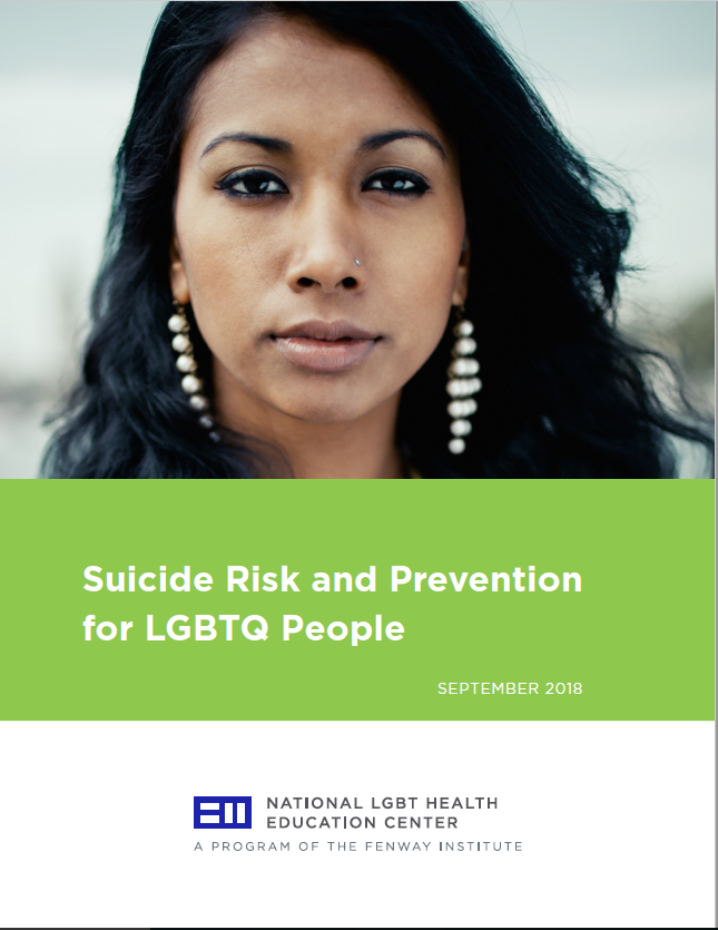 Suicide Risk and Prevention for LGBTQ Patients