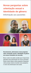 New Sexual Orientation and Gender Identity Questions: Information for Patients Translated into Brazilian Portuguese