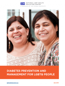 Diabetes Prevention and Management for LGBTQ People