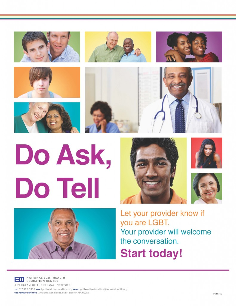 Do Ask, Do Tell Series: Poster