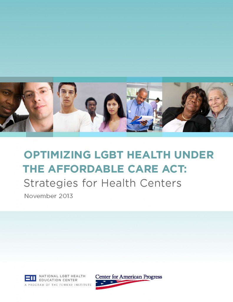 Optimizing LGBT Health Under the Affordable Care Act: Strategies for Health Centers